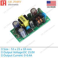 AC-DC 15V 0.4A 6W Power Supply Buck Converter Step Down Module High Quality USA