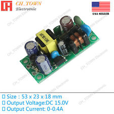 AC-DC 15V 0.4A 6W Power Supply Buck Converter Step Down Module High Quality USA