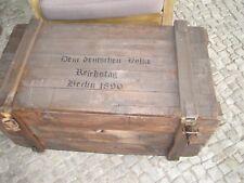 Holzkiste Shabby Chick Vintage Retro Möbel Truhe Tisch Couchtisch Reichstag