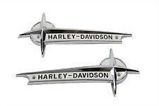 new oem vintage 1961-1962 Harley Davidson panhead FL & FLH gas tank emblems