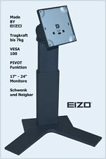 """EIZO LCD TFT bis 7kg Standfuß Monitorfuß Monitorständer VESA 100 bis 24"""""""