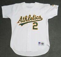 1993 Scott Hemond Oakland Athletics Game Used Worn MLB Baseball Jersey A's