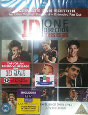 1D One Direction - This Is Us Blu-Ray & UltraViolet Copy - Brand New & Sealed