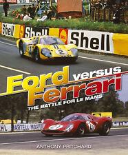 Ford vs Ferrari (Le Mans 24 GT40 Gulf P4 250 Sports Prototype Racing) Buch book
