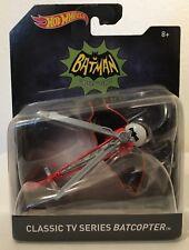Hot Wheels BATMAN BATCOPTER Classic TV Series 1:50 Scale 2015 new