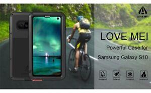 LOVE MEI Shockproof Heavy Duty Metal Case Cover For Samsung Galaxy S10 (UK)