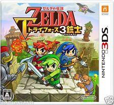 The Legend of Zelda Triforce 3 jūshi NINTENDO 3DS JAPANESE  JAPANZON