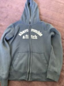 Boys Abercrombie And Fitch Hooded Jacket Age 12