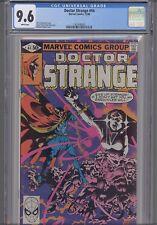 Doctor Strange #44 CGC 9.6 Michael Golden Marvel Comic 1980: NEW Frame