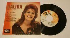 Vinyles de Dalida, 45 tours