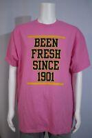 Men's XL Grambling State Student Government SGA Pink SS T-shirt