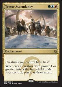 Temur Ascendancy x4 Magic the Gathering 4x Khans of Tarkir mtg card lot