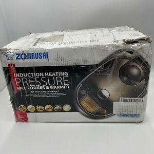 Zojirushi Induction Heating Pressure Rice Cooker & Warmer 1.8 Liter, NP-NVC18