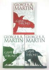 Game of Thrones Vol 1 2 3 Graphic Novel New Comic HC Hardcover Bantam