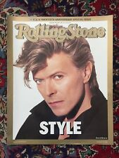 Rare David Bowie Poster RollingStone 1987 Aniversary Issue Cover