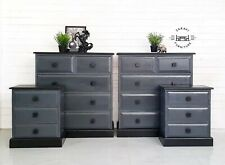 Handpainted Chest Of Drawers and Bedside cabinets