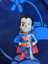 Jason Freeny Signed XXRAY Dissected Vinyl DC Comics Golden Age Superman Figure