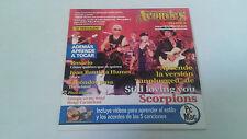 "CD SINGLE ""ACORDES DE GUITARRA 20"" 5 TRACKS ROSARIO SCORPIONS"