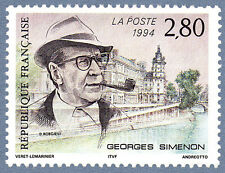 TIMBRE FRANCE NEUF  N° 2911 - Georges Simenon 1903 - 1989