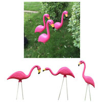 Realistic Large Pink Flamingo Garden Decor Lawn Art Ornament Home DIY Crafts