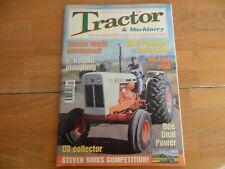 TRACTOR & MACHINERY MAG FEB 2003 V9#3 DOE DUAL POWER N.IRELAND PLOUGHING BMB MF