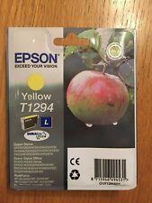 Epson T1294 - New / Unused Yellow Ink Cartridge - C13T12944011