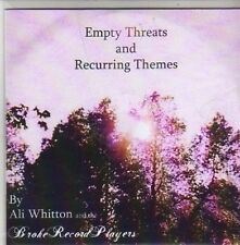 (CB748) Ali Whitton, Empty Threats And Recurring Themes - 2006 DJ CD