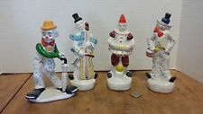 VINTAGE NANCO Nancy Sales Co. Clowns, Group of 4 Circus, Magic 7 1/4