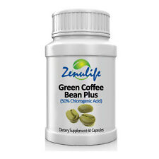 Green Coffee Bean Pure Extract Capsules 400mg with Chlorogenic Acid Lose Weight