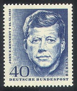 Germany 1964 President John F Kennedy/JFK/Politics/Politicians/People 1v n40865