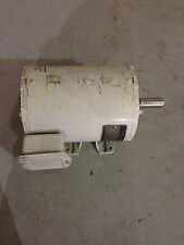 USED GENERAL ELECTRIC 1HP MOTOR  3 PHASE   1725 RPM    5KS49WN8035