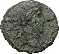 Antoninus Pius Marcus Aurelius Father Ancient Roman Coin Modius i28186