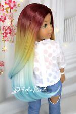 American Girl doll Acapulco Premium wig Fits most 18'dolls Blythe Og