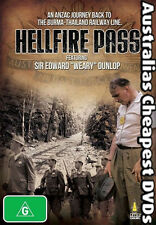 Hellfire Pass DVD NEW, FREE POSTAGE WITHIN AUSTRALIA REGION ALL