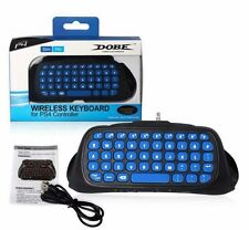 NEW 2.4G Wireless Bluetooth Keyboard Chatpad for PlayStation 4 Slim & PS4 Pro