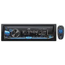 JVC AM/FM Mechless with BT USB F/R/S 4 Volt Preout