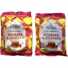 Bonds of London Rhubarb and Custard Sweets 2 x 150g Bags