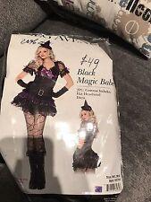 Adult Leg Avenue Black Magic Babe Witch Ladies halloween costume M/L