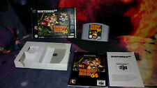 DONKEY KONG 64 SIN EXPANSION PACK NINTENDO 64 N64 PAL ESPAÑA COMPLETO