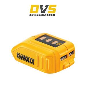 DeWalt DCB090 USB Battery Charger Device for XR 10.8 / 14.4 /18V (Charger Only)