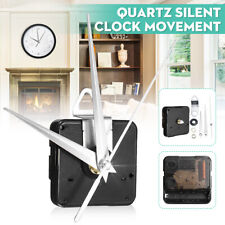 Quartz Silent Clock Movement Mechanism Module Hour Minute Second Hand DIY Kit