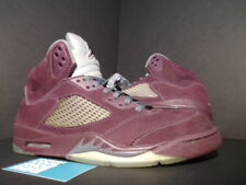 Nike Air Jordan V 5 Retro LS BURGUNDY RED WOLF GREY BLACK SILVER 314259-602 10