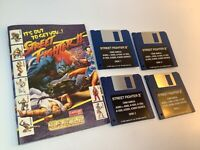 STREET FIGHTER 2 Commodore Amiga ~ BIG boxed ~Vintage PD diskette video game