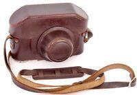 Leather Case ( like ESOOG ) by E. LEITZ Wetzlar for Leica Camera & FOKOS FODIS