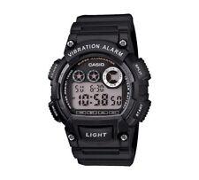 Casio Para hombres Reloj Alarma de Vibración Digital W-735H -1 avef Negro Correa RRP £ 39 Wow