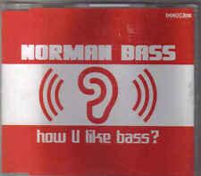 Norman Bass-How U Like Bass cd maxi single