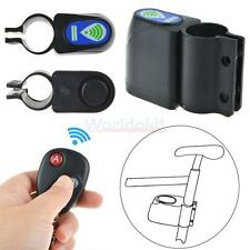 Bicycle Cycling Safty Lock Wireless Remote Control Vibration Alarm Anti-theft