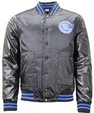 PUMA Padded Baseball Bomber Popper Jacket Mens 561754 D Black 04 L