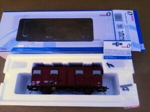 Lenz wagon couvert GS4 Permaplex Rouge UIC époque 4 Provence Express
