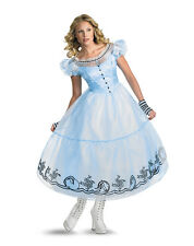 Deluxe Alice In Wonderland Women Costume - Small (  Dress Size 4-6 ) 13531